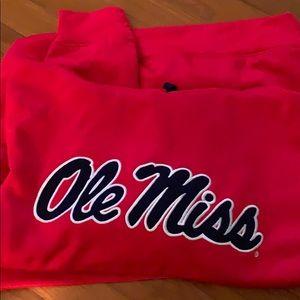 🆕 Mississippi Hoodie Sweatshirt Ole Miss Adult S